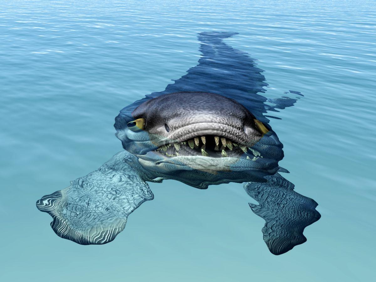 Under Water Monster