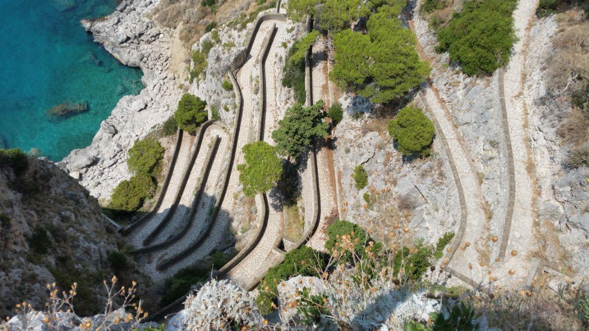 Steps to Capri