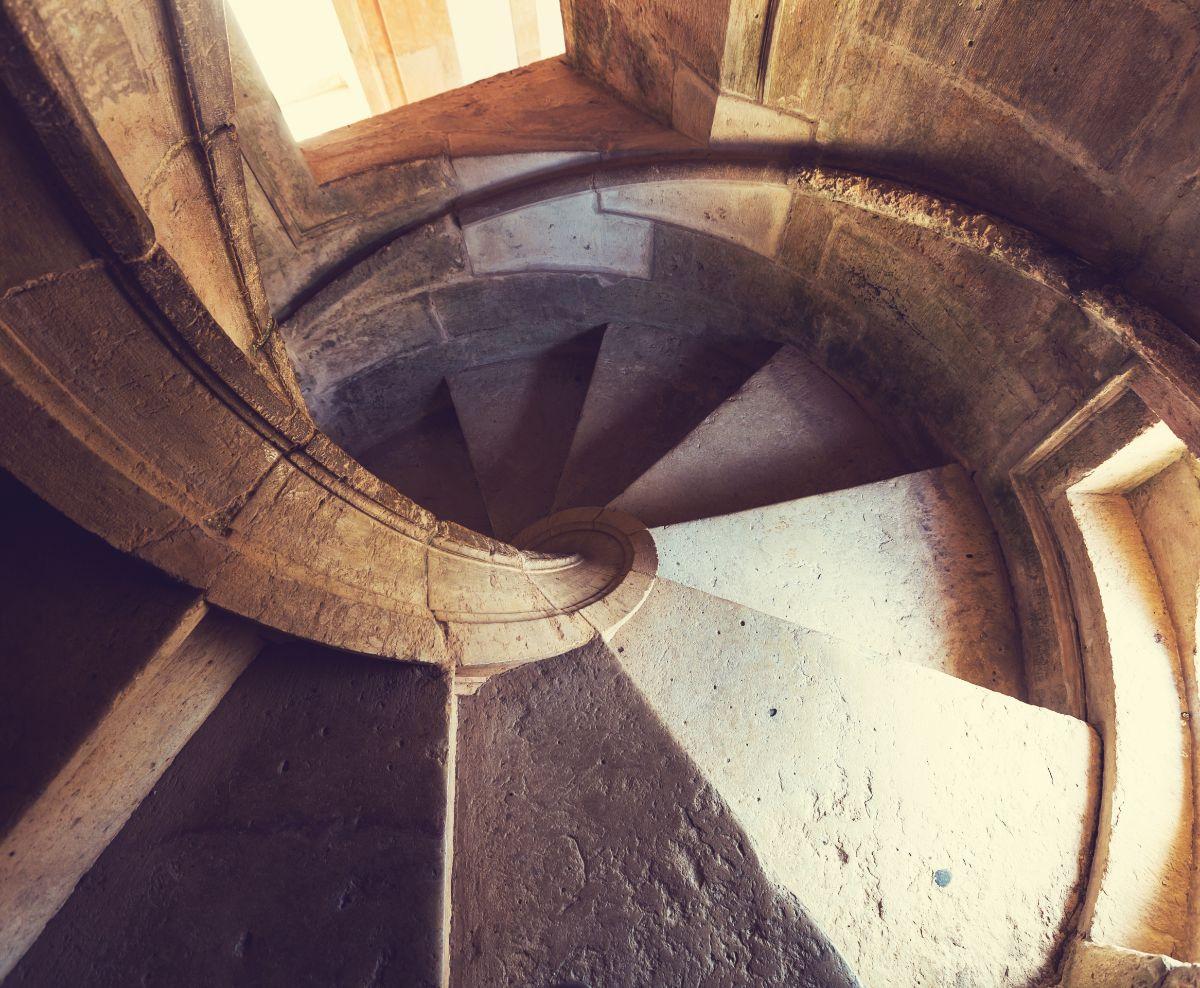 Winding Stairwell
