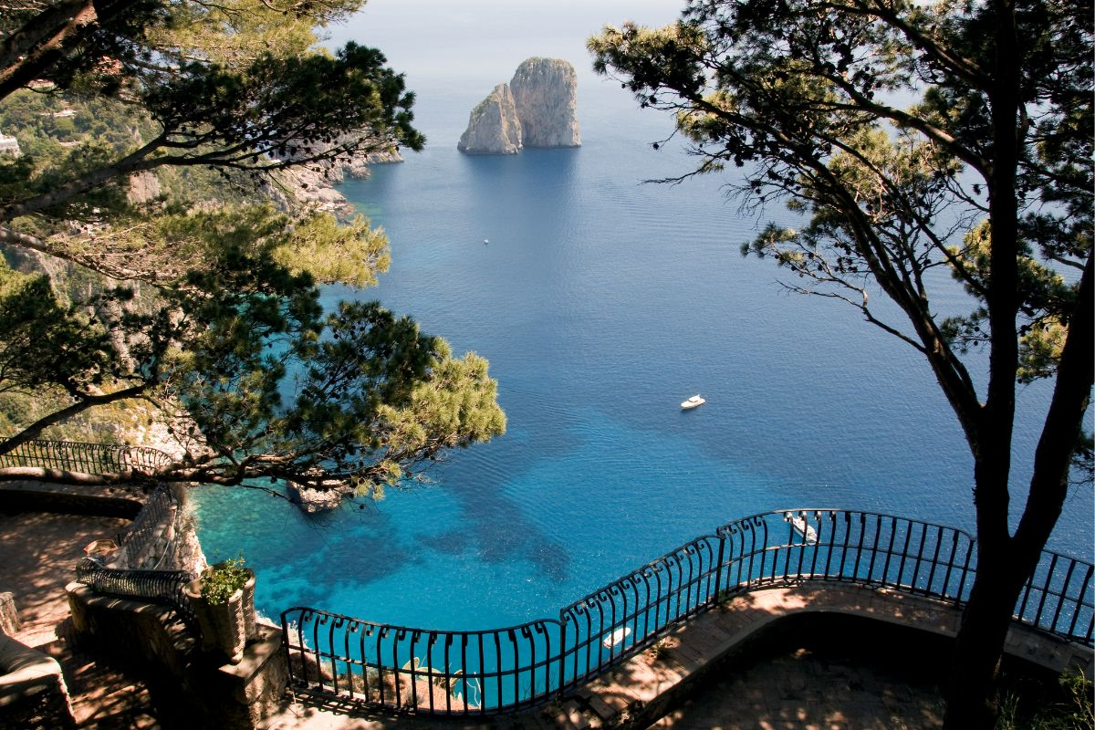 View From Cliff Capri