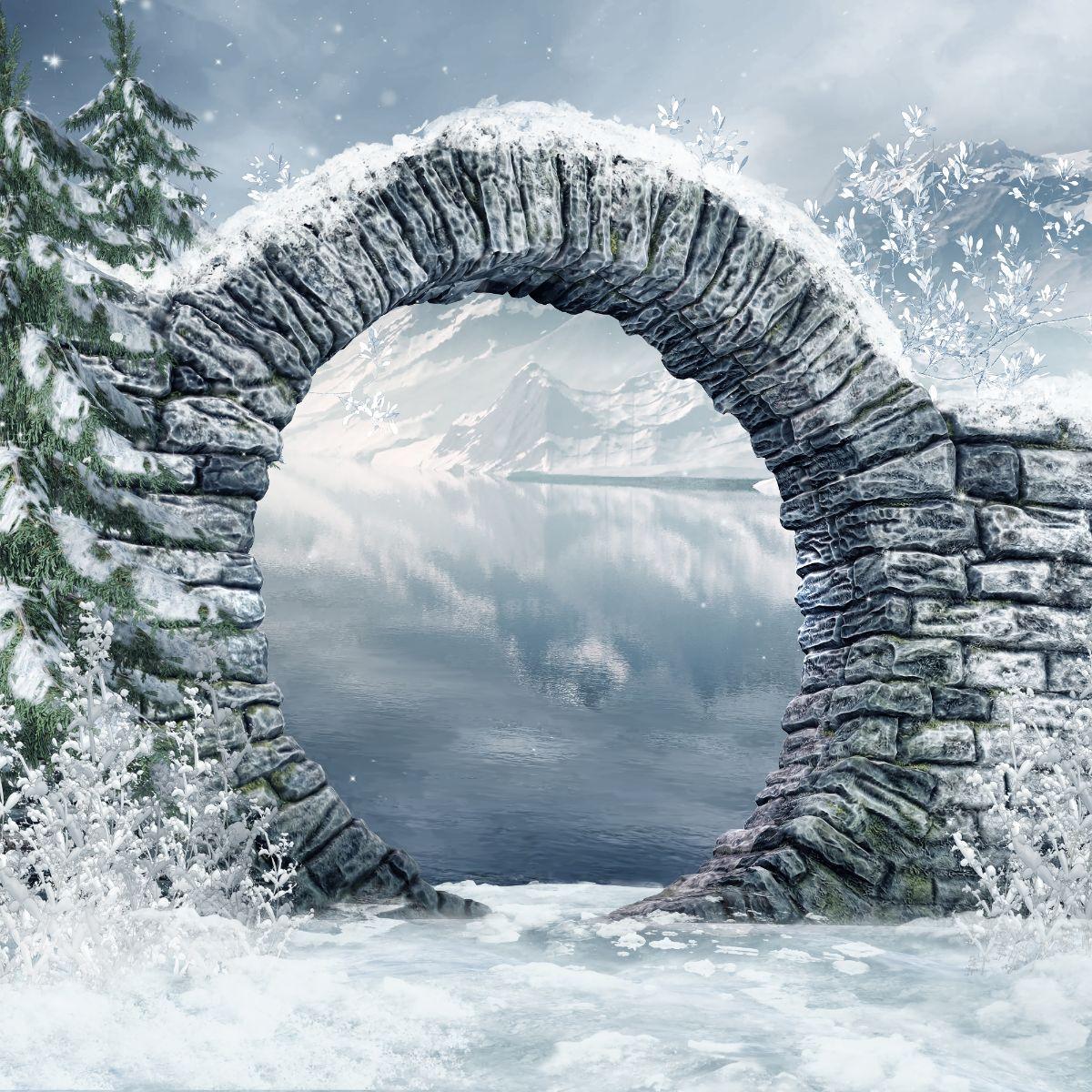 Round Stone Arch