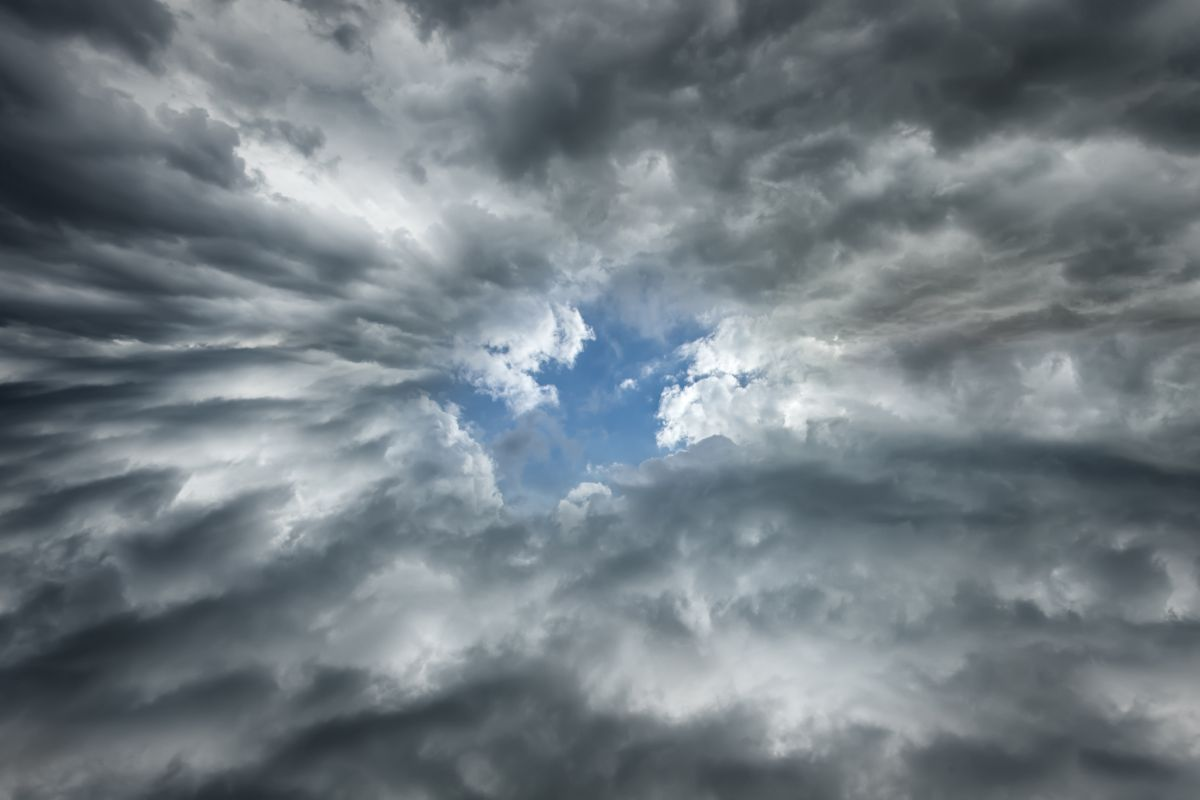 Hole in Clouds