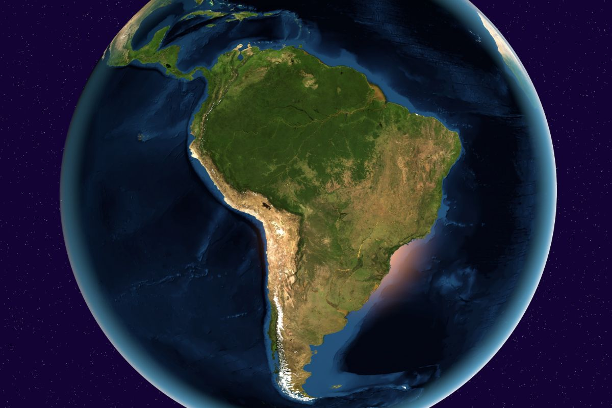 South America From Above