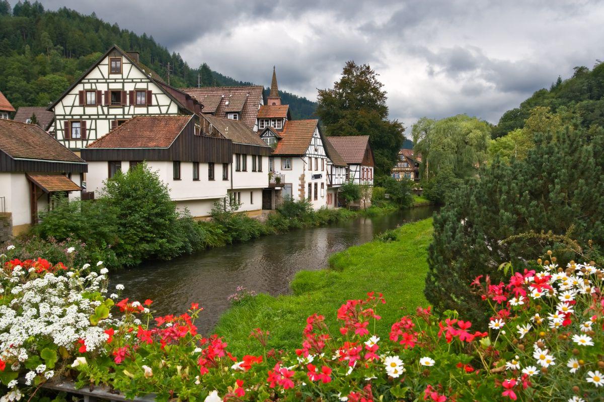 Village in Black Forest