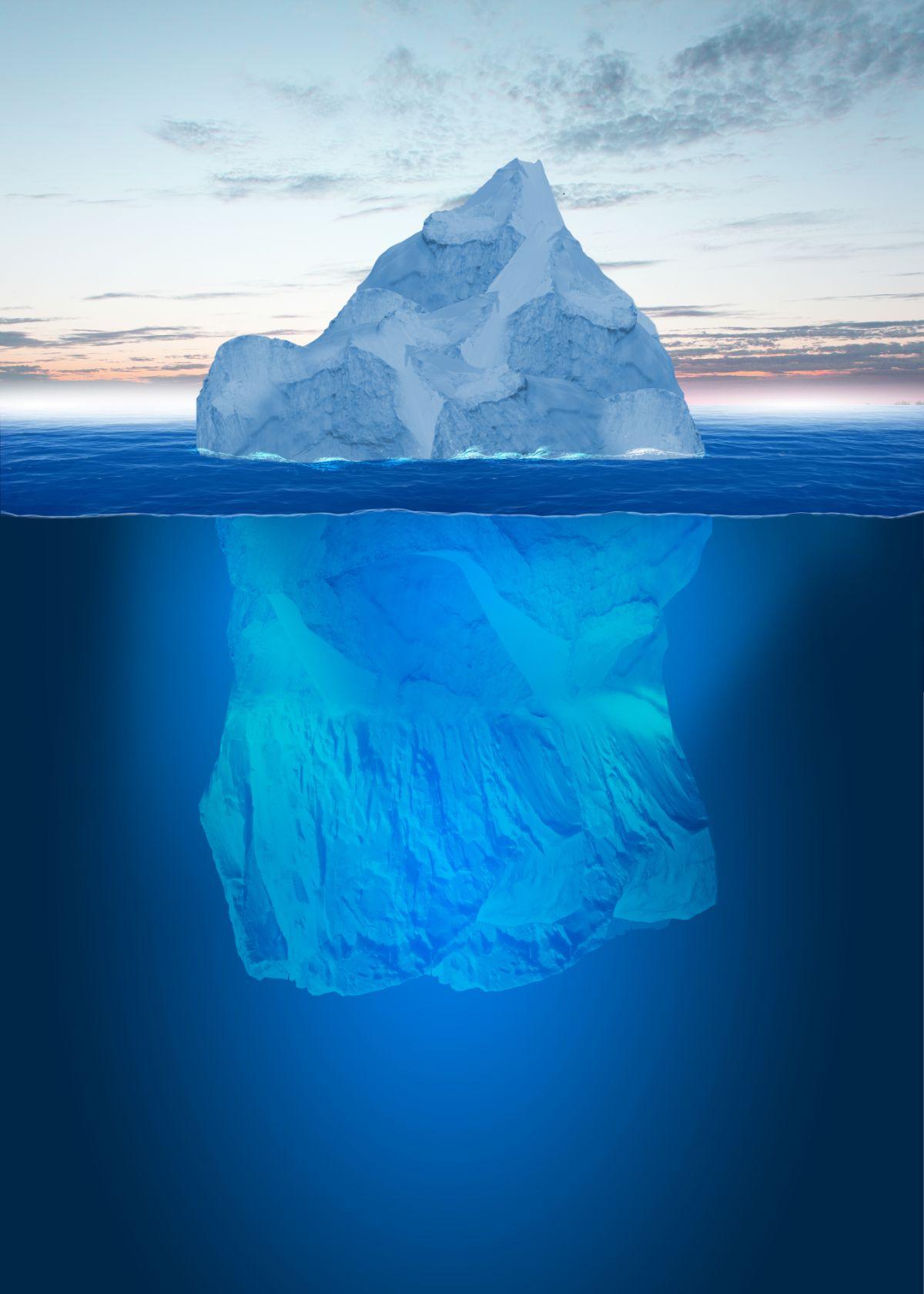 Bottom of Iceberg