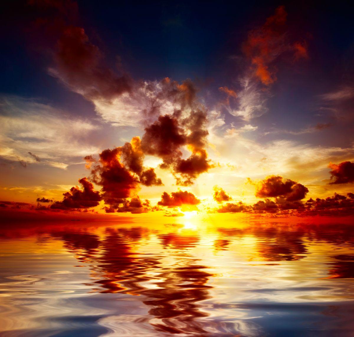 Maya Sunset