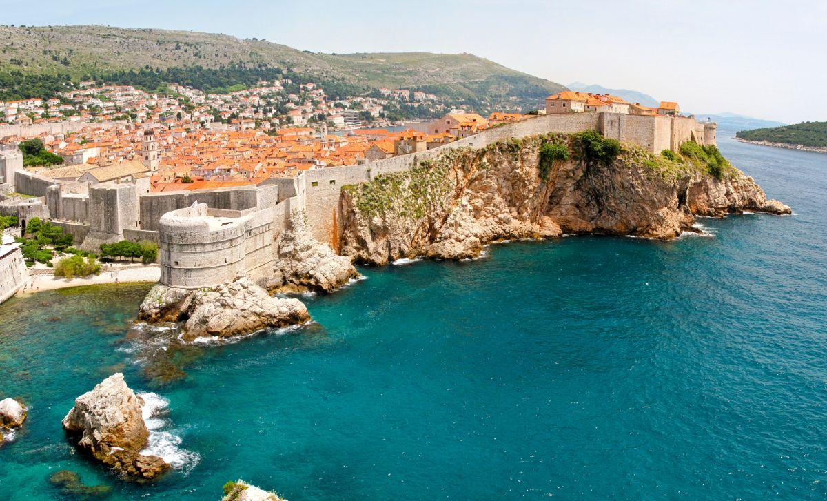 Croatia Castle Wall